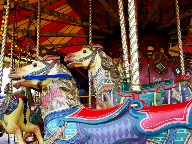 If we're not careful, we could easily jump on the Merry-Go-Round of Discontent https://vineblossom.wordpress.com