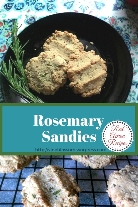 These little gems are a good-for-you alternative to traditional Pecan Sandies with a delightful herbal twist. https://vineblossom.wordpress.com