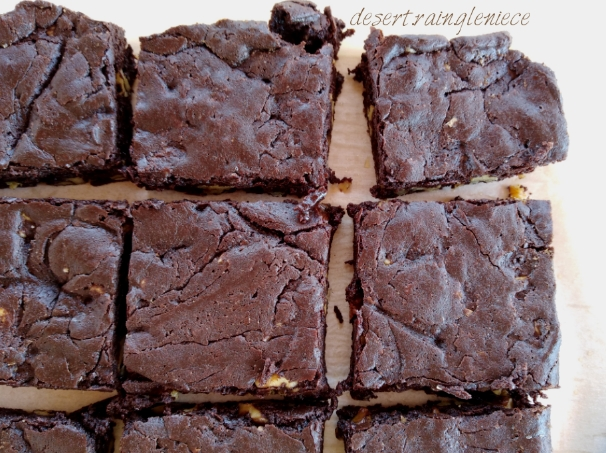 Brown Butter Brownies with Cayenne & Toasted Walnuts